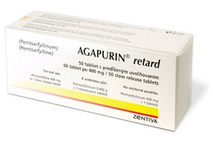 Agapurin retard 400 mg, 60 tablets