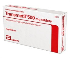 Transmetil 500 mg, 10 tablets