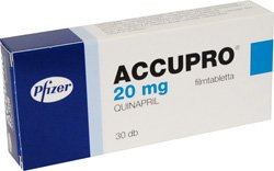 Accupro 20 mg, 30 tablets
