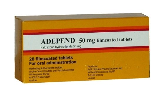 Adepend 50 mg, 28 tablets