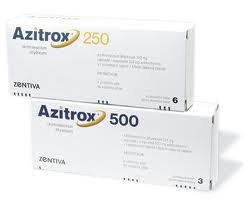 Azitrox 250 mg, 6 tablets